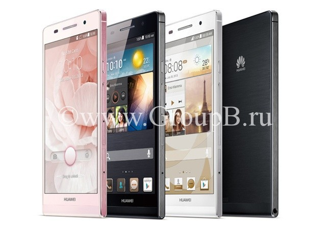 Huawei Ascend P6 обзор review